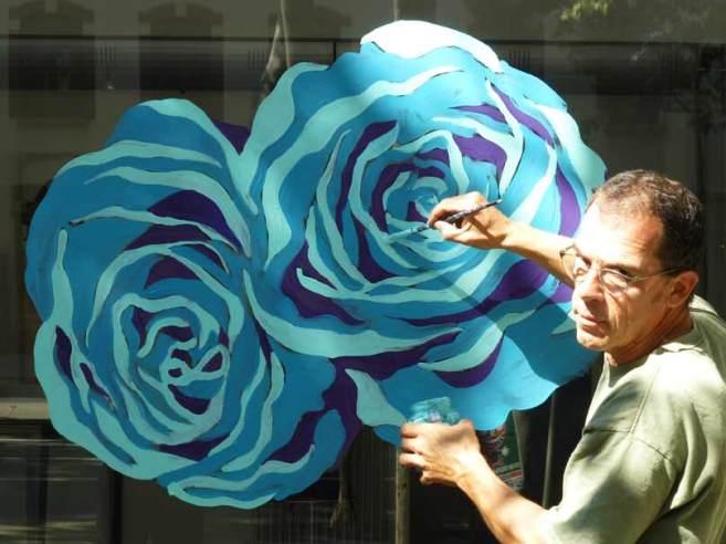 Roses de septembre chez mon galerie