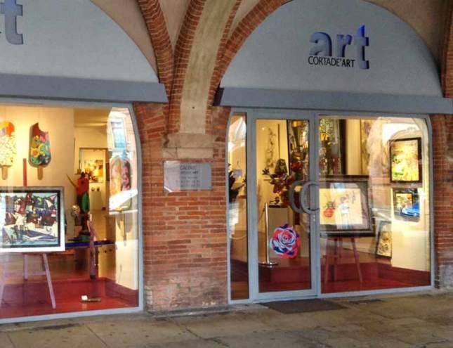 A la galerie Cortade Art