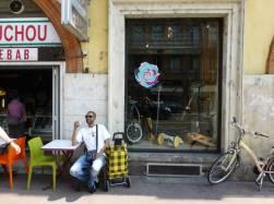 Pause café de l'amigo Franck