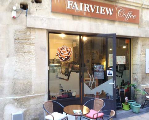 Fairview coffee, rue des loys, des cookies à croquer !