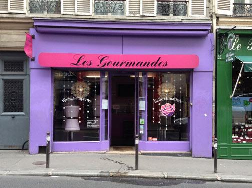 Les Gourmandes rue de Clichy