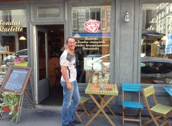 Farid et sa rose 19, rue Joseph Dijon