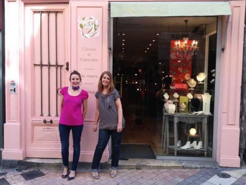 Une rose délicate chez Céline et Juliette 65, rue des remparts