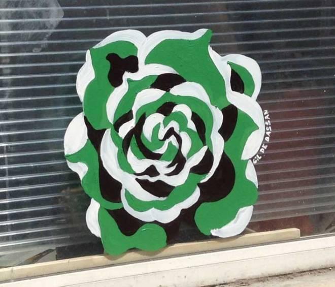 Une rose verte pour une anglaise