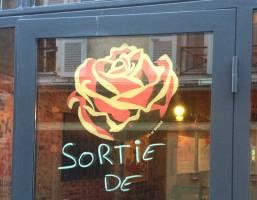 Annie, visible rue Jeanne d'Albret