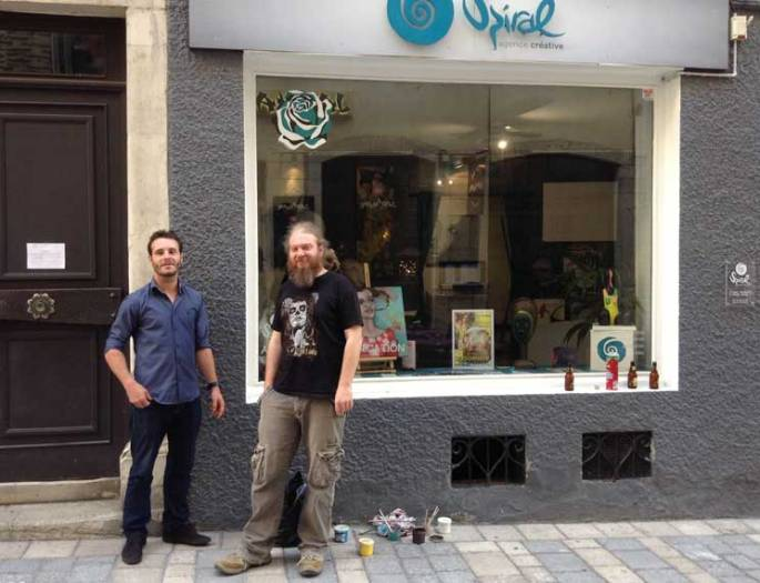 Nicolas et Gregory 7bis, rue de Foix