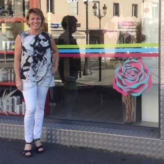 Sylvie en soutien à Octobre Rose