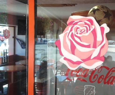 Les deux roses...