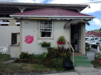 Flower Shack. Gros Islet