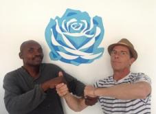 Avec Thierry Etoka