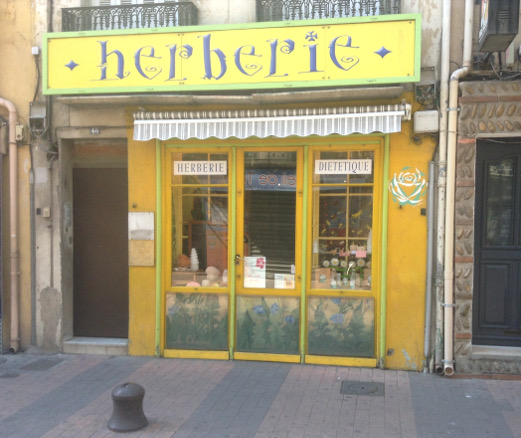 L'Herberie, chez Isabelle, 48 rue du maréchal Foch.