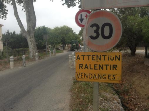 En quittant Perpignan, direction Saint-Génis-des-Fontaines